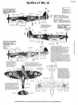 BD32006 Spitfire LF.IX französische Luftwaffe Indochina