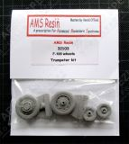AMS32103 F-100 Super Sabre Weighted Wheels