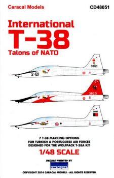 CD48051 T-38 Talon portugiesische & türkische Luftwaffe