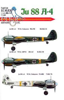 ECD72153 Ju 88 A-4 KG 30, KG 51 & KG 76