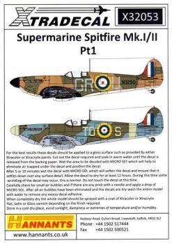 XD32053 Spitfire Mk.Ia/IIa