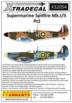 XD32054 Spitfire Mk.Ia/IIa