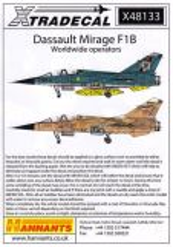 XD48133 Mirage F1 International Operators