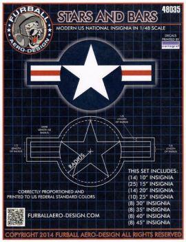 FBD48035 U.S. Nationalitätskennzeichen nach 1947