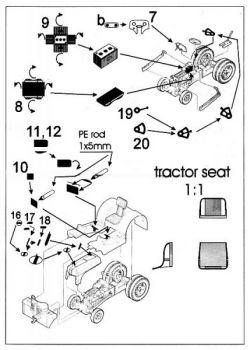 PF32026 TUG-Schlepper Detail Set