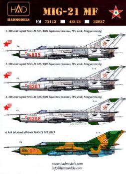 HU72113 MiG-21MF Fishbed-J ungarische Luftwaffe
