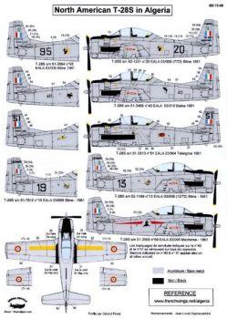BD72088 T-28S Fennec französische Luftwaffe in Algerien