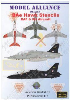MAL72116 BAe Hawk Warn- und Wartungshinweise