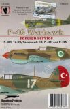 EGS48278 P-40M/N Warhawks & Tomahawk