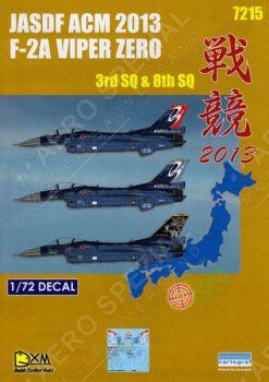 DXM72016 F-2A Viper Zero JASDF TAC Meet 2013