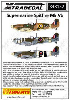 XD48132 Spitfire Mk.Vb/Vc