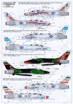 XD72116 F-100D/F Super Sabre Teil 1