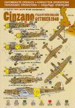 DPC72024 Vergessene Operationen: Cinzano, Oktober 1940