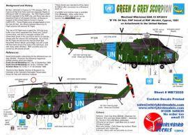 WR72020 Whirlwind HAR.10 UN-Einsatz RAF Akrotiri