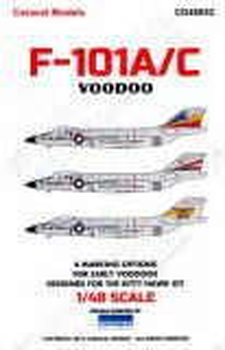 CD48052 F-101A/C Voodoo U.S. Air Force