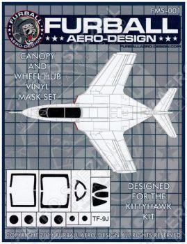 FMS4801 TF-9J Cougar Maskierfolie