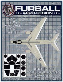 FMS4805 A-3 Skywarrior Maskierfolie