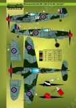 MOD32022 Bf 109 E/F/G Royal Air Force