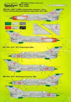 MOD48001 MiG-21bis Fishbed-M polnische Luftwaffe