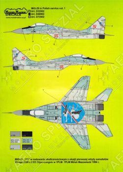 MOD48002 MiG-29 Fulcrum polnische Luftwaffe