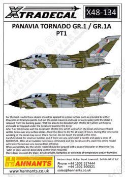XD48134 Tornado GR.1/GR.1A Part 1