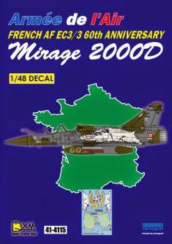 DXM48012 Mirage 2000D Anniversary Scheme