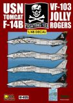 DXM48022 F-14B Tomcat VF-103 Jolly Rogers