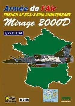 DXM72010 Mirage 2000D Anniversary Scheme