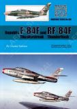 WT100 Republic F-84F Thunderstreak & RF-84F Thunderflash