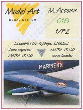 MAC7218 Matra LR 150 Raketenwerfer für Etendard IVM und Super Etendard