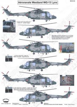 BD32033 Lynx Mk.4 French Navy