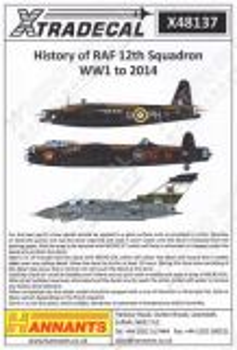 XD48137 History of No. 12 Squadron RAF WW II to 2014