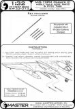 AM32073 MiG-19PM Farmer-E Pitot Tube and Missile Rails Nose Parts