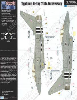 TB37006 Eurofighter Typhoon FGR.4 Sonderanstrich 70 Jahre D-Day