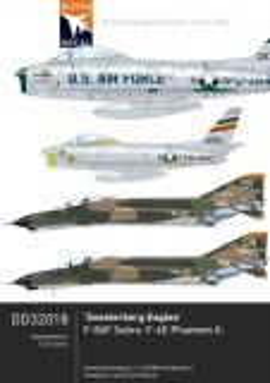 DD32018 F-86 Sabre & F-4 Phantom II USAFE Soesterberg