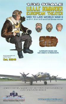 MD32040 Bomberschütze U.S.A.A.F. WK II europäische Kriegsschauplätze