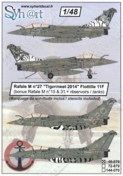 SY48079 Rafale M NATO Tiger Meet 2014