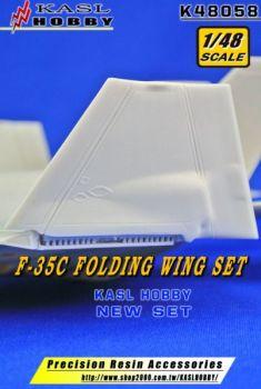 KH48058 F-35C Lightning II geklappte Tragflächen