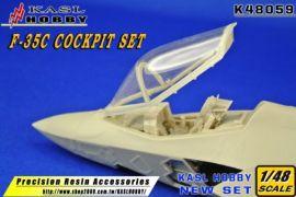KH48059 F-35C Lightning II Cockpit Set