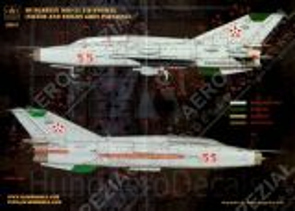 HU32017 MiG-21UM Mongol-B Warn- und Wartungshinweise ungarische Luftwaffe