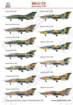 HU48142 MiG-21UM Mongol-B China, DDR, Deutschland, Russland, Ungarn