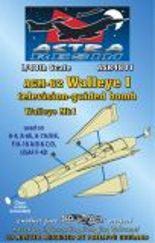 ASR4801 AGM-62 Walleye I TV-gelenkte Gleitbombe (Vietnamkrieg)