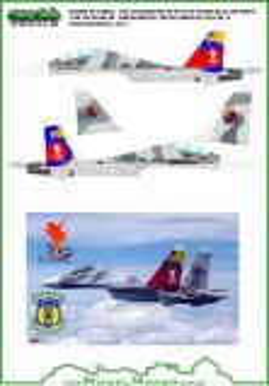 MOD72042 Su-30MK2V Flanker-G venezolanische Luftwaffe