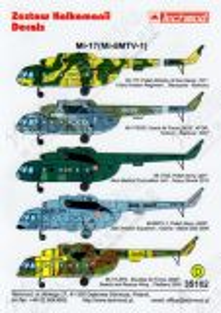 TMD35102 Mi-8/17 Hip-H Polen, Slowakei & Tschechien