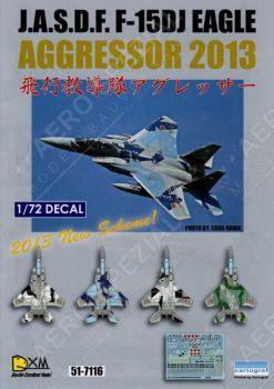 DXM72017 F-15DJ Eagle JASDF Aggressors 2013