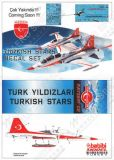 BAD7207 NF-5A Freedom Fighter Turkish Stars