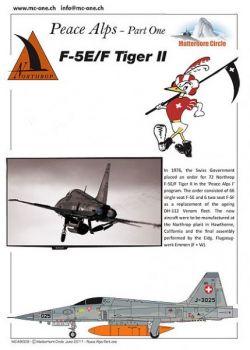MC72009 F-5E/F Tiger II Schweizer Luftwaffe