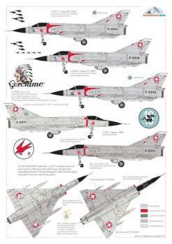 MC72014 Mirage IIIS & Mirage IIIRS Swiss Air Force
