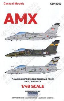 CD48069 AMX & AMX ACOL italienische Luftwaffe