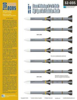 TB32035 AIM-120B/C AMRAAM and AGM-88C HARM Markings